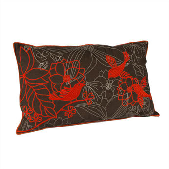 Chirps Tangerine Cushion