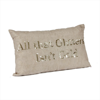 Glitter Gold Cushion