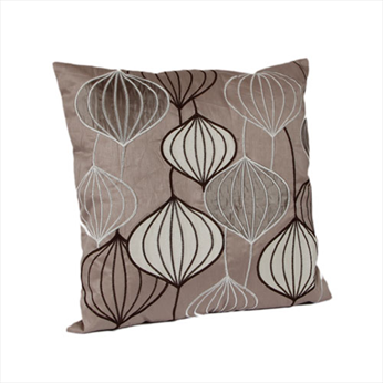 Amelia Taupe Cushion