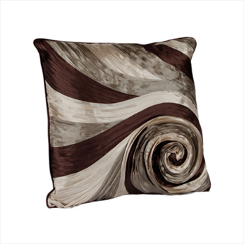 Swirl Taupe Cushion